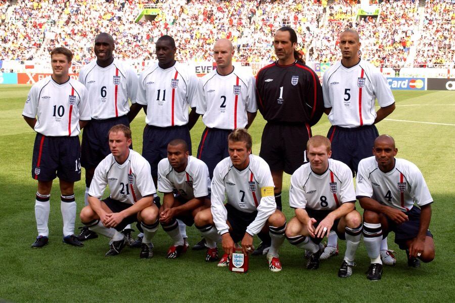 Englands 2002 World Cup 15 Years On England Memories
